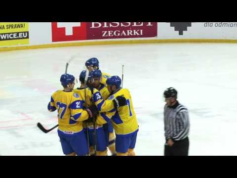 2017 EIHC. Ukraine - Poland - 2:3 GWS (highlights, 10.02.2017)
