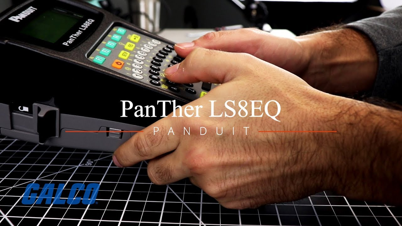 DRIVERS FOR PANDUIT PANTHER LS8EQ