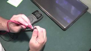 HP Pavilion dv5 - Проверка внешнего блока питания ноутбука