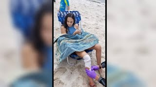 Children bitten in New York's first apparent shark attack in more than 60 years