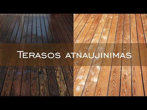 Terasos atnaujinimo instrukcija | Terasos atnaujinimas | www.mdsterasos.lt