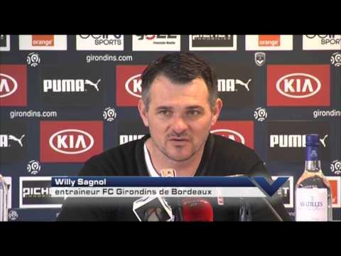 Conférence - Willy Sagnol avant Rennes vs Bordeaux