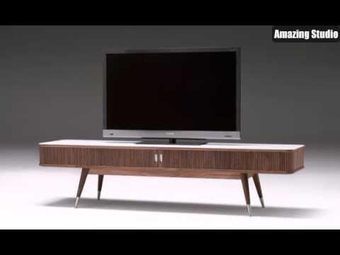 Dänische Möbel Ein Cooler Fernseher - YouTube