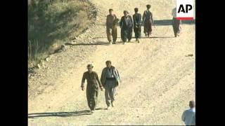 Iran/Iraq - PUKs flee as KDP advance