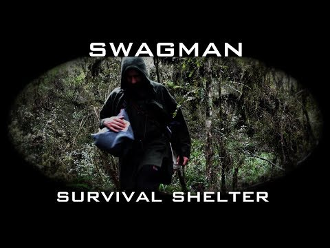 swagman bushcraft - episode 1 - survival shelter