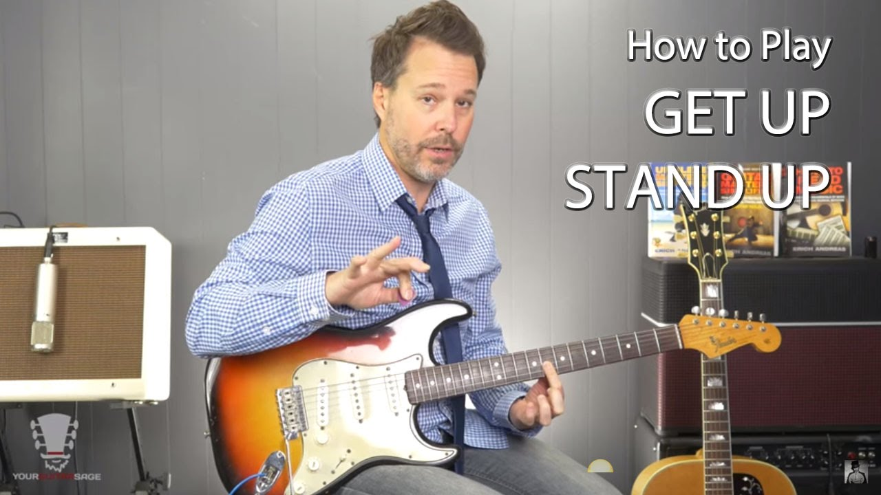 how to play get up stand up by bob marley guitar lesson. Black Bedroom Furniture Sets. Home Design Ideas