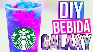 BEBIDA GALAXIA tipo STARBUCKS - DIY