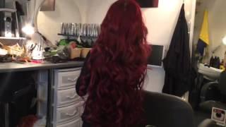 Самые длинные нарощенные волосы