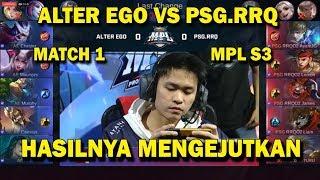 BLUNDER YG FATAL ! RRQ VS ALTER EGO MATCH 1 MPL S3