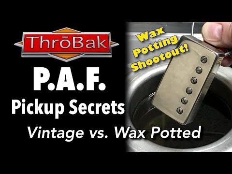 PAF Pickup Secrets: No Wax vs. Wax Potted PAF Shootout