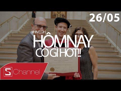 Schannel - #HNCGH 26/5: Mark Zuckerberg cuối cùng cũng tốt nghiệp, Galaxy Note 8 lộ diện