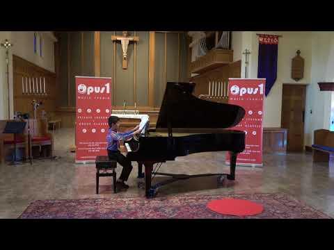 2018 Opus 1 Music Studio Spring Recital   - Ethan Browne , Piano