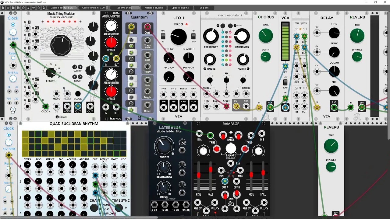 MUFF WIGGLER :: View topic - New VCV Rack Video Series