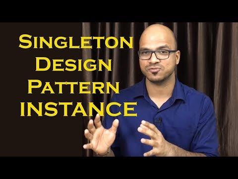 Singleton Design Pattern using enum INSTANCE Part 5
