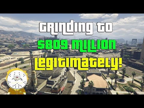 GTA Online Grinding To $809 Million Legitimately And Helping Subs
