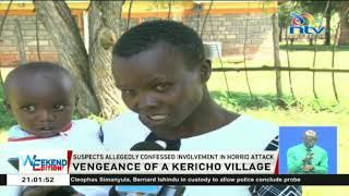 Kericho residents kill 2 for being part of gang that hacked family
