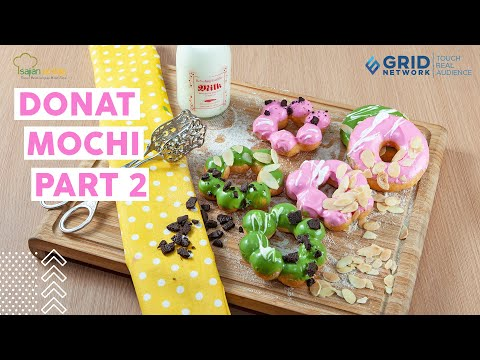 Resep Donat Mochi Part 2, Resep Donat ala Toko Kue yang Empuk dan Manis from YouTube · Duration:  18 minutes 51 seconds