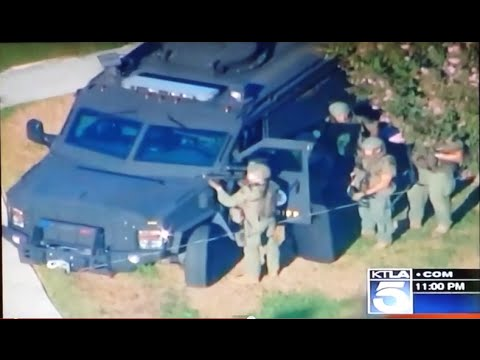 CRAZY HOSTAGE SITUATION WITH POLICE IN PICO RIVERA CA