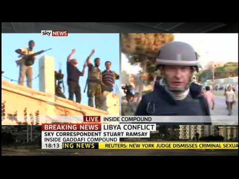 Tripoli Fall Day 3 Sky News 6pm
