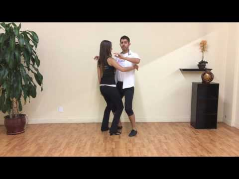 Bachata Body Movement Technique Dance Lesson #1: Creating Center with your Body