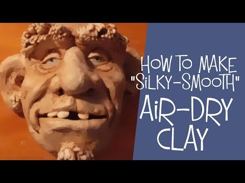 How To Make Air Dry Clay - Silky-Smooth DIY Recipe