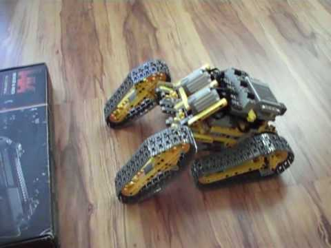 Lego Technic Off Road robot r/c - YouTube