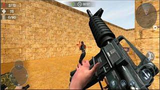 Gun Strike: Free Anti-Terrorism Sniper Shoot Games - Android GamePlay 2021 #8 screenshot 5