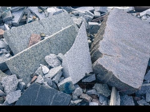 Granite Countertop Crushing System For Sale, Granite Recycli