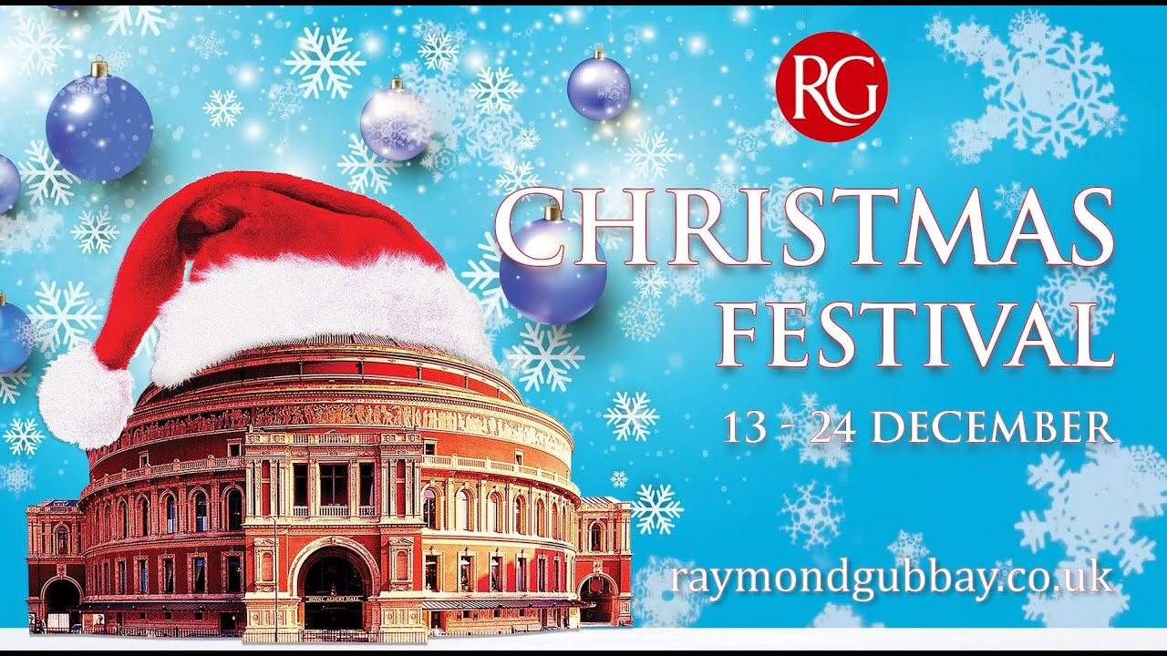 Raymond Gubbay Christmas 2020 Raymond Gubbay Christmas Festival at the Royal Albert Hall   YouTube