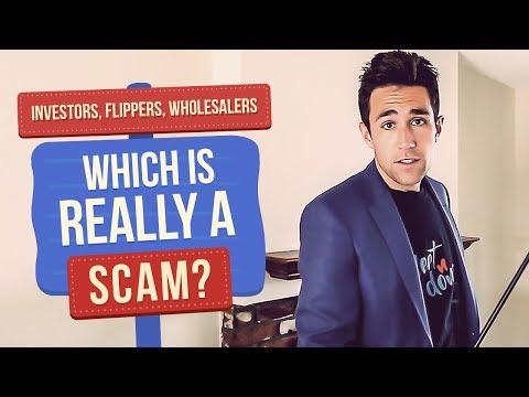 Real Estate Wholesaler vs Investor vs Flipper -- Which is a Scam