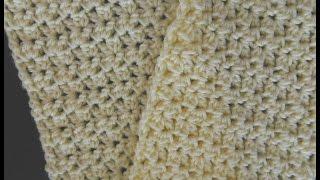 Beautiful Easy Crunch Shell Stitch Scarf Video