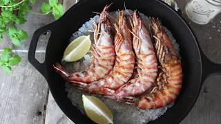: 快 樂 鱻 料 理 小 教 室 : 鹽 焗 野 生 明 蝦 ????????????