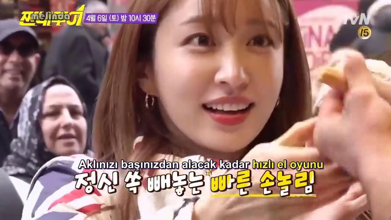[Türkçe Altyazılı] Myungsoo ve EXID Hani'nin Türk Dondurması ile İmtihanı Salty Tour 72.Bölüm