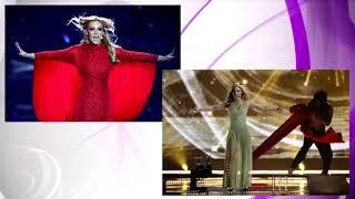 Analizamos los looks de Eurovisión, antes y ahora
