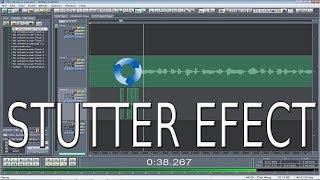 Como hacer Stutter Efect en Adobe Audition 1.5 - Rápido y Sencillo