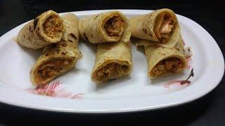 Chicken Frankie Recipe/ Chicken Roll