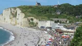 Radtour 2014 Teil6 Normandie Etretat Yport Fecamp