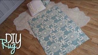DIY Cute Rugs | Easy No Sew Home Decor