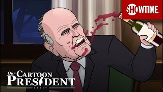 Cartoon Rudy Giuliani Teaches Cartoon Trump How To Be Disgusting   Our Cartoon President   Season 2
