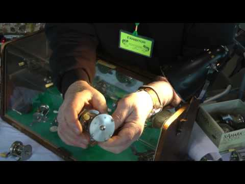 Andy Foster On Antique And Vintage Fishing Reels, Very Informative
