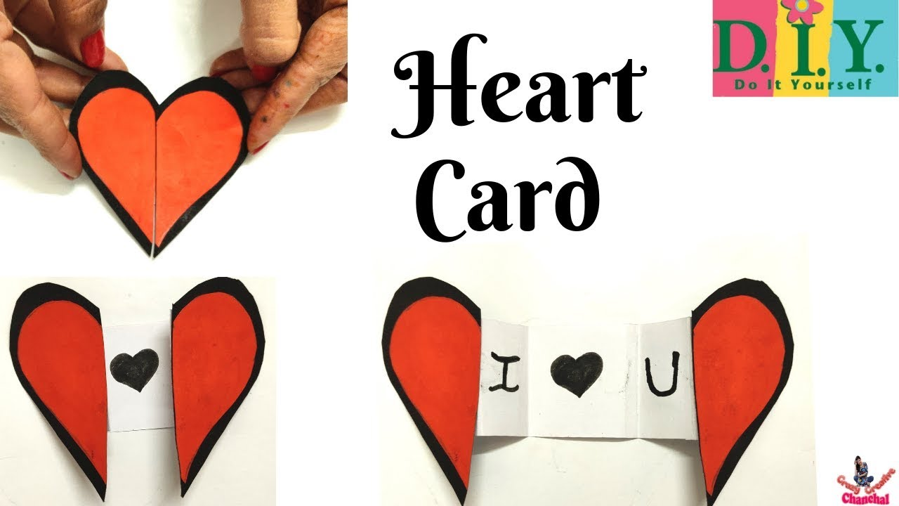 Valentines Day Cards Diy Valentine Cards How To Make An Easy Paper