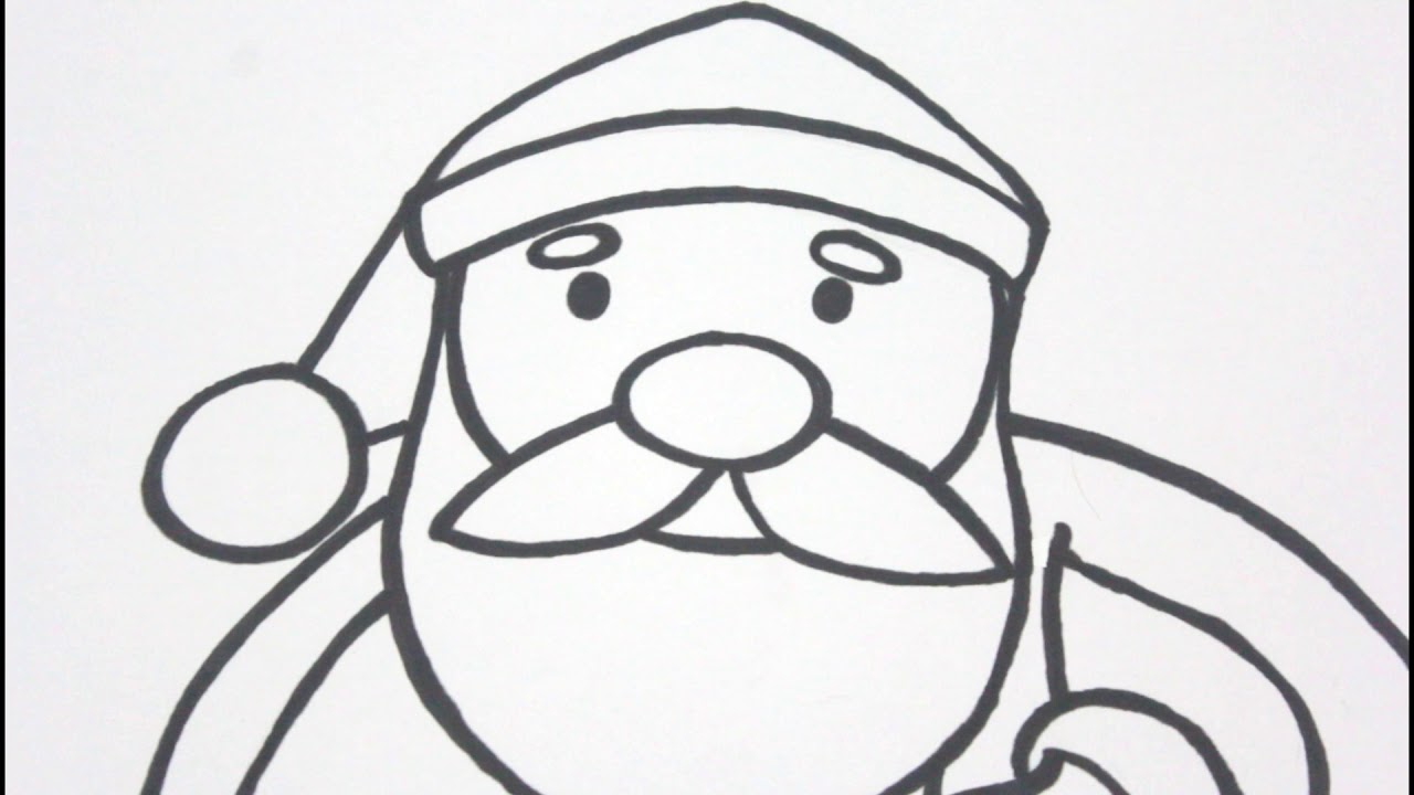 Menggambar Dan Mewarnai Sinterklas I Santaclaus I Untuk Paud Tk Sd