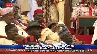 Senators Elect Vote As Omo-Agege, Ekweremadu Go Head To Head Pt.1