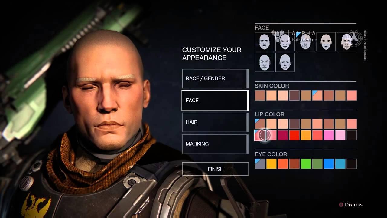 destiny character creation - photo #11