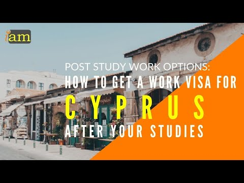 How to Get a Work Visa in Cyprus After Your Studies - Post Study Options