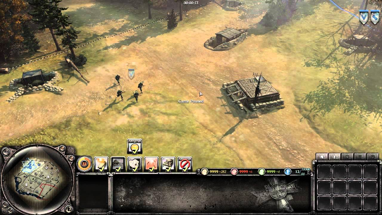 Company Of Heroes 2 Tutorial Refining Hotkeys For Efficient Micro Youtube