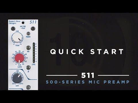 Quick Start: 511