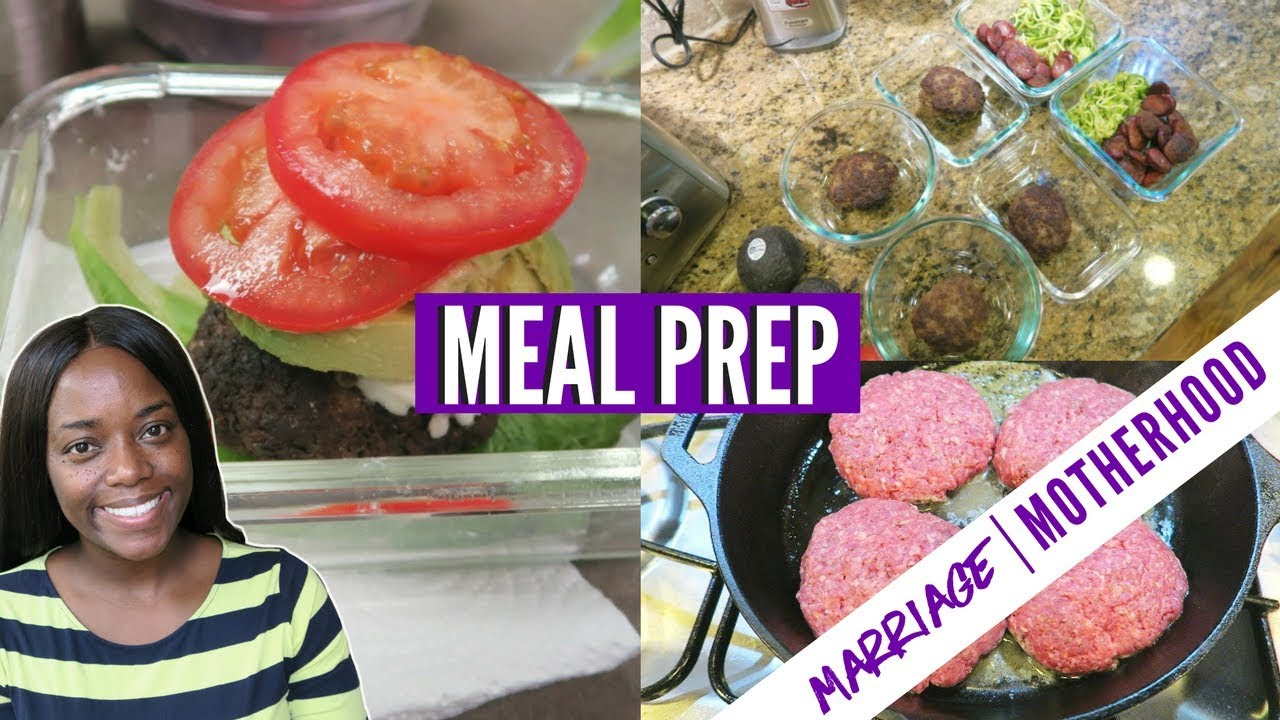meal prep for work lunches low carb easy food marriage motherhood youtube. Black Bedroom Furniture Sets. Home Design Ideas