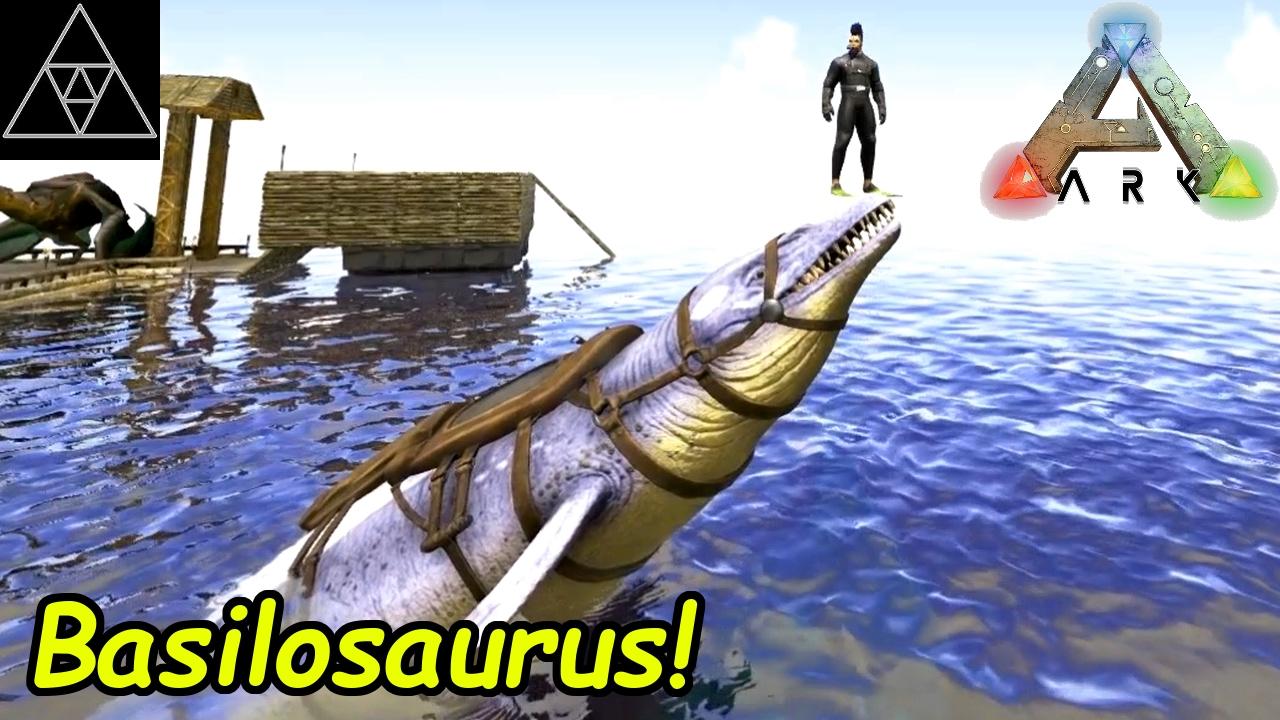 ark basilosaurus zähmen