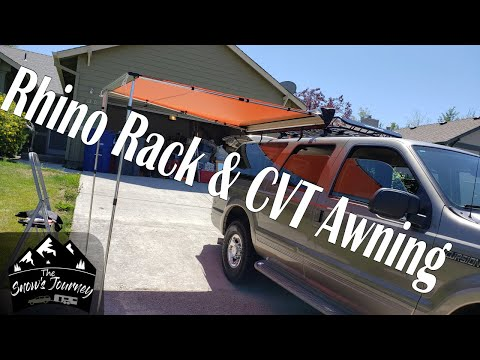 Installing The Roof Rack / CVT Awning On The Excursion